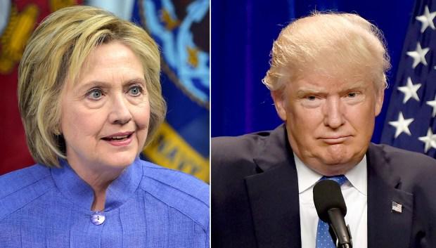 Democratic presidential nominee Hillary Clinton and GOP nominee Donald Trump.