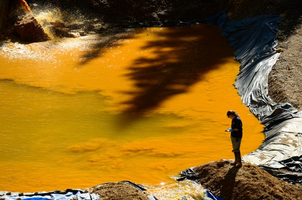 EPA Works To Clean Up Spill at Gold King Mine