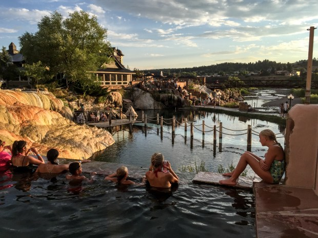 Pagosa Springs' Springs Resort and Spa has 23 mineral pools, plus rooms and suites on site.