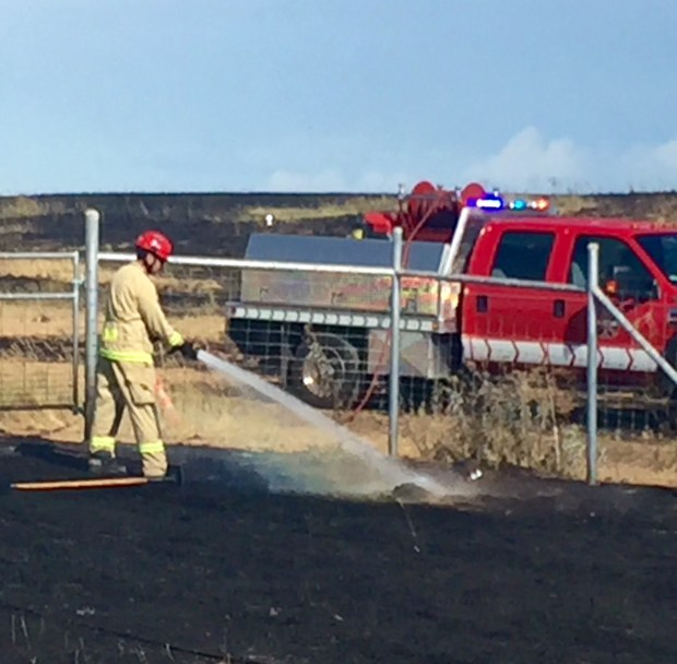 Grass Fire Burns More Than 195 Acres At Rocky Mountain