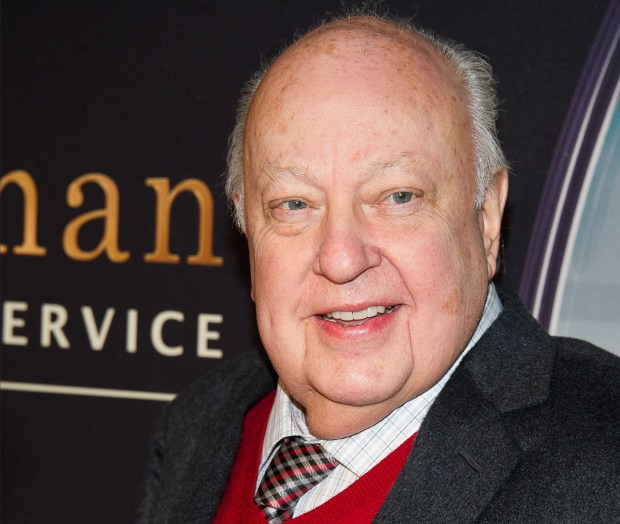 Roger Ailes attends a special ...