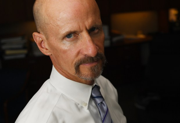 Bob Troyer poses for a portrait in his office on Aug. 31, 2016. Troyer became Acting U.S. Attorney following the departure of U.S. Attorney John Walsh.