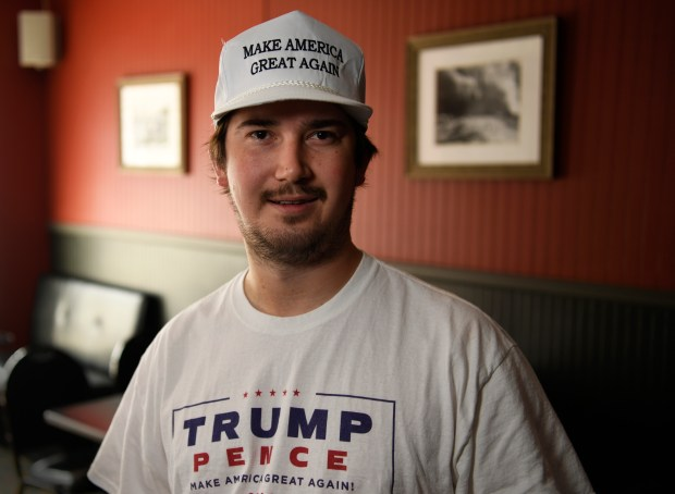 Owner of the Steel City Tavern and Donald Trump supporter Adam Griggs