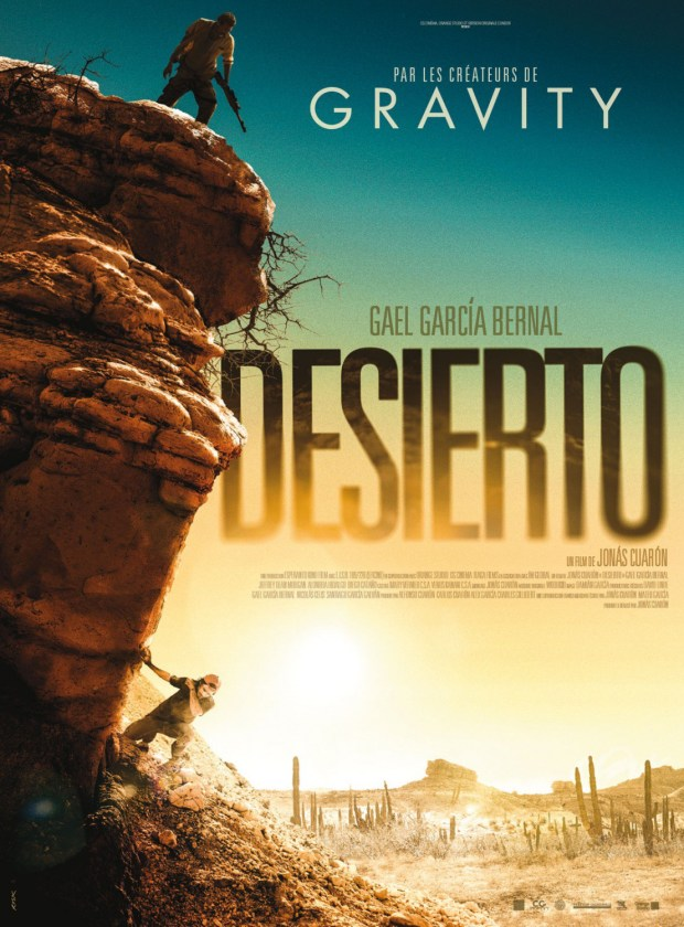 "Gael García Bernal stars in director Jonás Cuarón's new film ""Desierto,"" which will close out this year's CineLatino festival at the Sie FilmCenter."