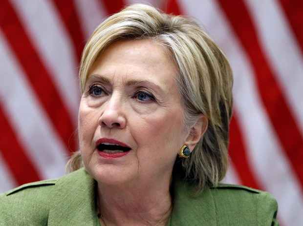 Democratic presidential nominee Hillary Clinton speaks Aug. 18 in New York.