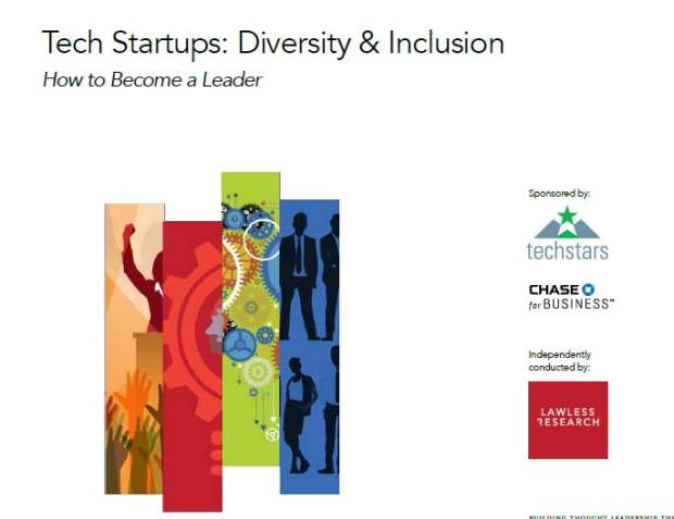 Chase and Techstars sponsored a survey asking 680 founders and executives of startups about diversity .