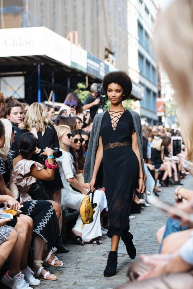 Rebecca Minkoff shut down part of SoHo's Greene Street in New York and gave passers-by a chance to see what fashion's inner circle has long been privy to.