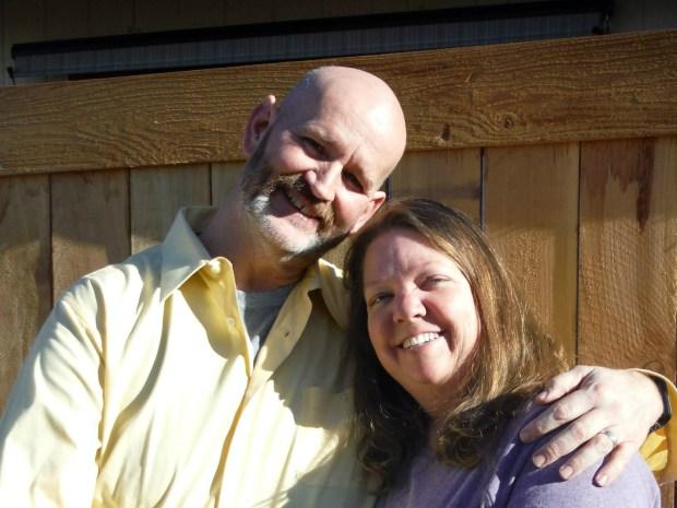 Kari Chopper with her husband, Josh Chopper