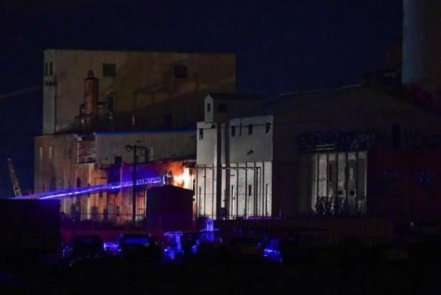 Longmont fire crews quickly dealt with a fire that broke out at the old sugar factory on Sunday evening. The cause is under investigation.