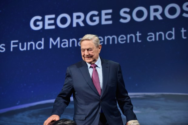 Founder and Chair, Soros Fund Management and the Open Society Foundations George Soros attends 2016 Concordia Summit at Grand Hyatt New York on September 20, 2016 in New York City.