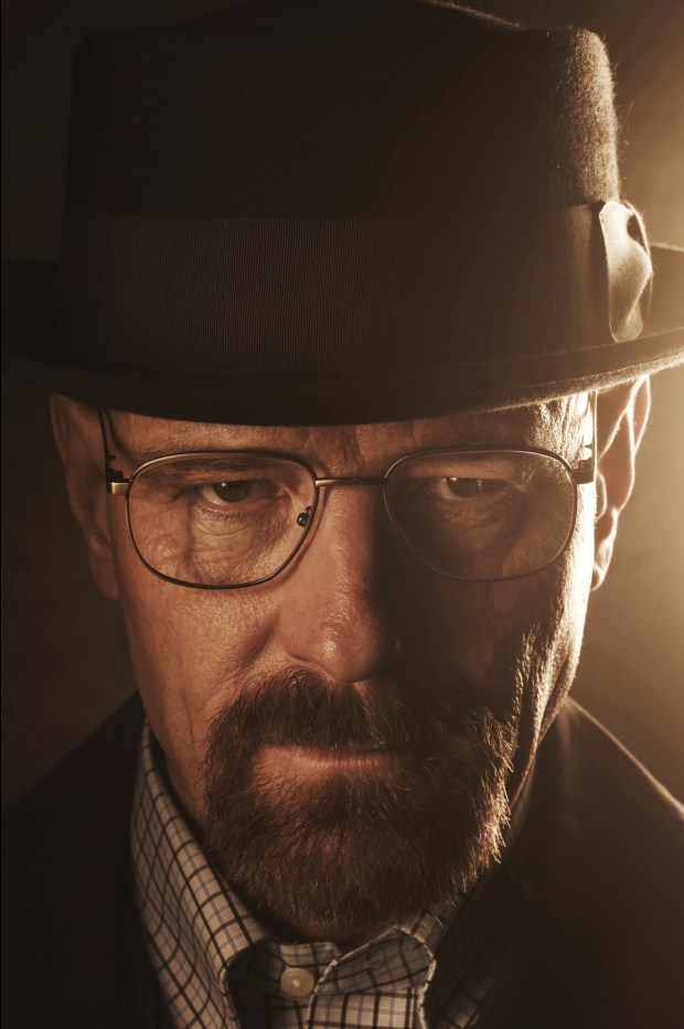 "Bryan Cranston is seen as Walter Whilte in ""Breaking Bad."""
