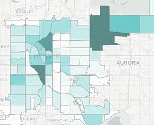 Denver crime map