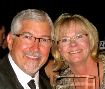 Curt and Nancy Richardson, founders of OtterBox and Blue Ocean Enterprises. The couple donated $8.1 million to Colorado State University to build the Richardson Design Center, announced Oct. 11, 2016.
