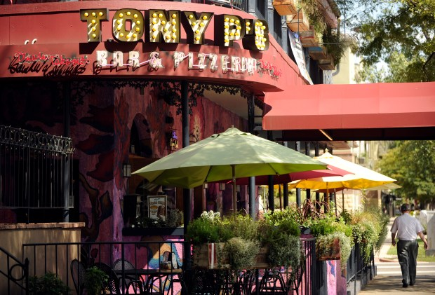 "Tony P's Bar and Pizzeria along 17th Ave. used to be J.R.'s Bar and Grill, a popular hang on MTV's ""The Real World."""