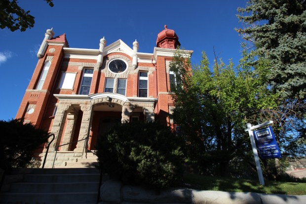 Temple Aaron in Trinidad Colorado is closing down after 132 years of service. The hybrid Victorian-Moorish building, pictured here on September 29, 2016, was built by Issac Hamilton Rapp in 1889.