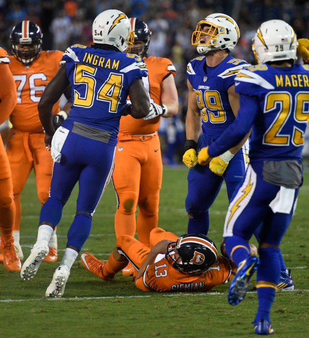 Denver Broncos Come Unglued In Loss To San Diego Chargers