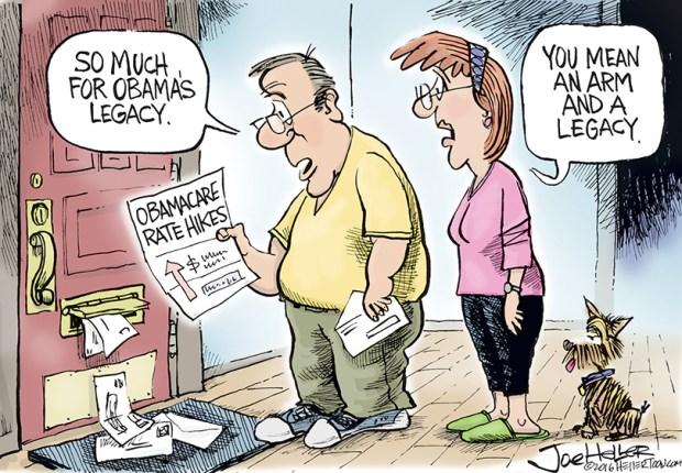 Image result for cartoons obamacare