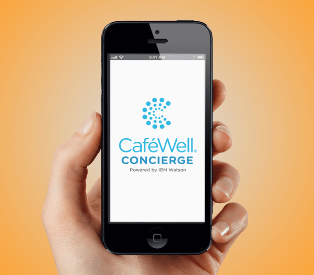 CafeWell, the mobile app from Denver-based Welltok, helps users create custom health goals and, if your employer is game, get financially rewarded.