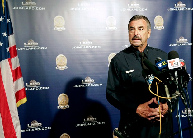 Los Angeles Police Chief Charlie Beck said this week that President-elect Donald Trump's vows to deport millions of people after taking office will not affect his department's longstanding policy of staying out of immigration issues. Officials in other so-called sanctuary cities, including Denver and Aurora, have pledged to do the same.