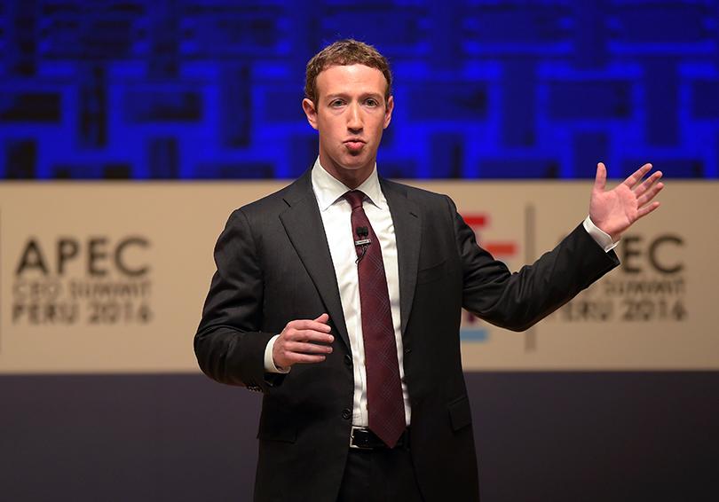 Facebook glitch cuts some Zuckerberg posts