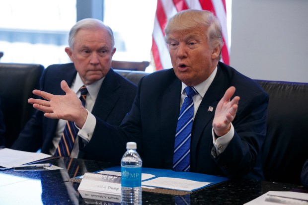 Sen. Jeff Sessions, R-Ala., is President-elect Donald Trump's choice to be U.S. attorney general. It is unknown how he will deal with marijuana, which is now legal in more than half the states but still illegal at the federal level.