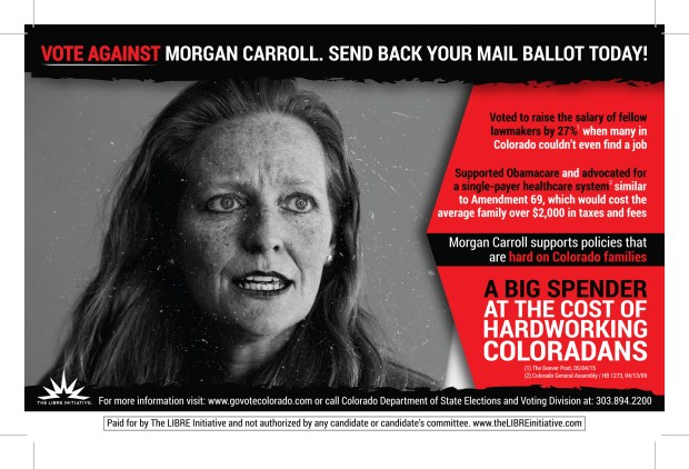 Morgan Carroll CO Mail In Ballot
