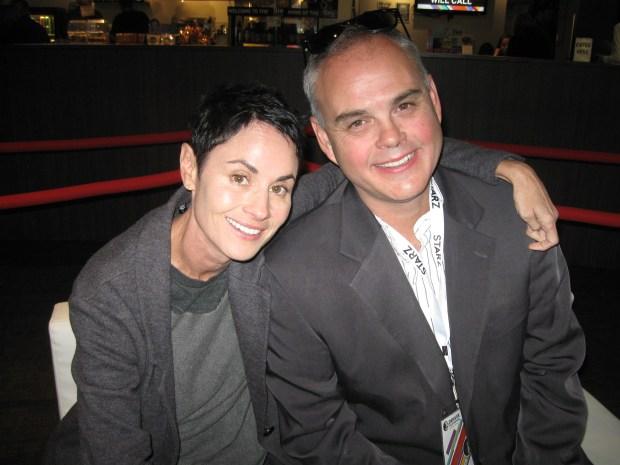 Filmmaker Brian Malone and his sister, Tony-nominated actress Beth Malone.