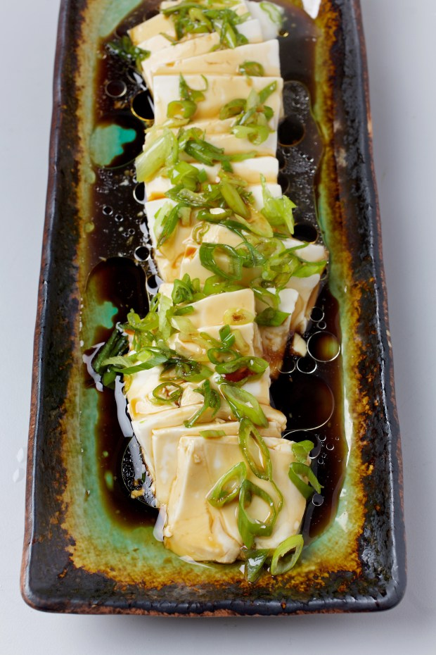 Silken Tofu With Soy Sauce