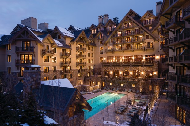 The 134-room Four Seasons Resort and Residences in Vail sold for a record $121 million.
