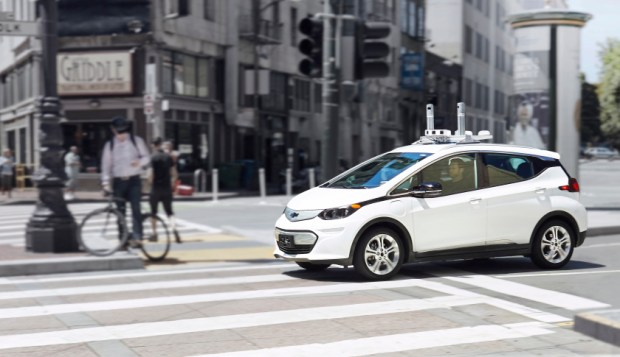 General Motors is testing self-driving cars in San Francisco and Scottsdale, Ariz.