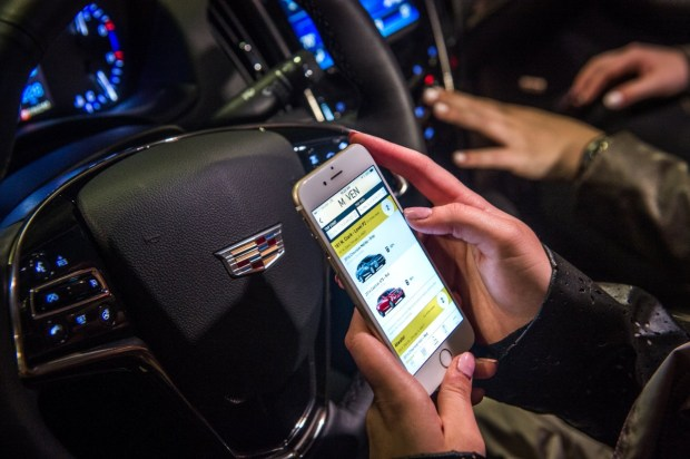Maven, the new carsharing service from General Motors, launches Nov. 17, 2016 in Denver. Members use an app to reserve cars -- from the hybrid Chevrolet Volts to the luxurious Cadillac Escalades -- and get to use the latest tech inside each vehicle. Rates start at $8 and $24 and include gas and insurance.