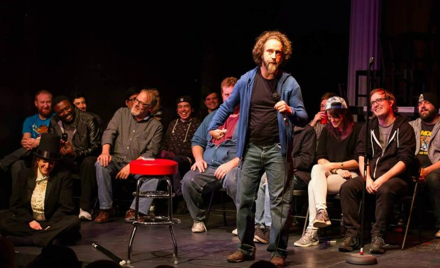 """Denver comic Josh Blue entertains his peers during 2016's """"50 First Jokes,"""" which returns to the Bug Theatre on Jan. 7."""