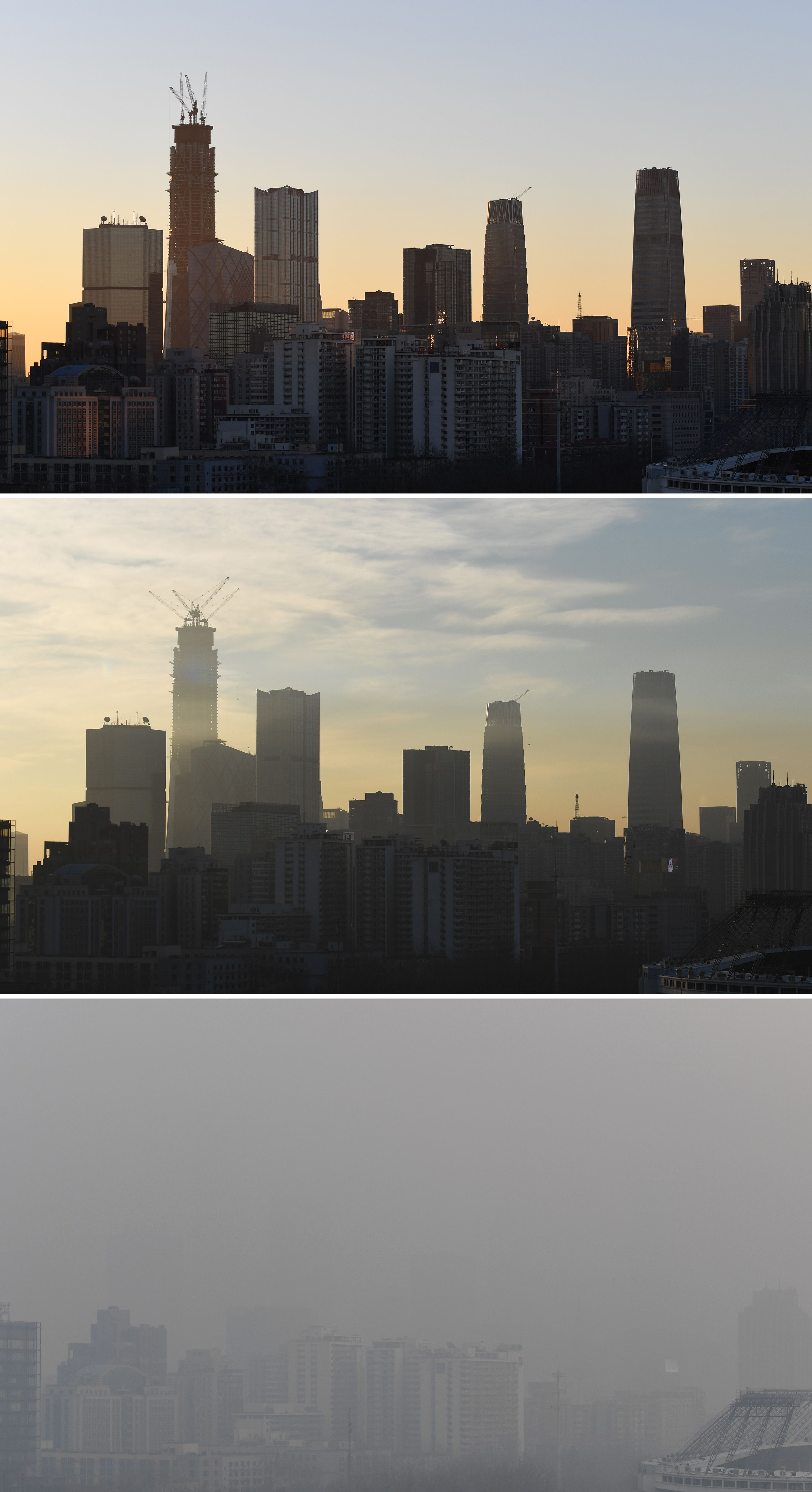 Beijing Imposes Smog Emergency Measures The Denver Post