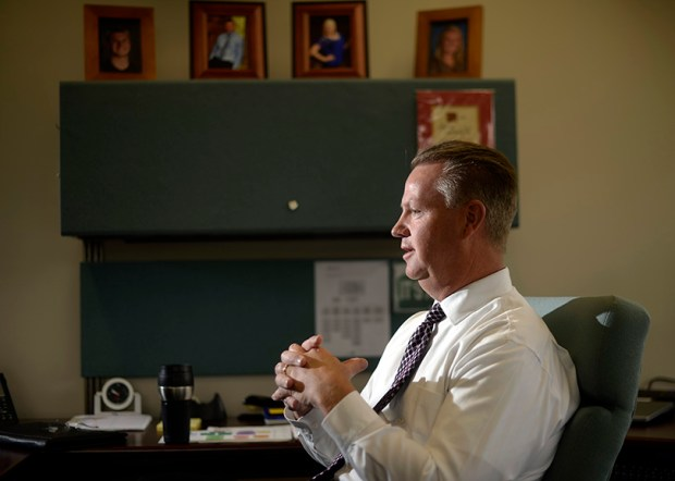 Dan McMinimee, superintendent of Jeffco schools, appears to be on his way out, as the school board is planning to discuss a search for a new chief.