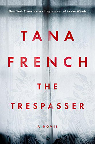 """The Trespasser"" book cover"