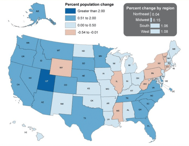 Table: Colorado's population grows in 2016, but is growing ...