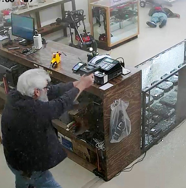 Georgia Gun Store Owner Shoots, Kills Armed Robbery
