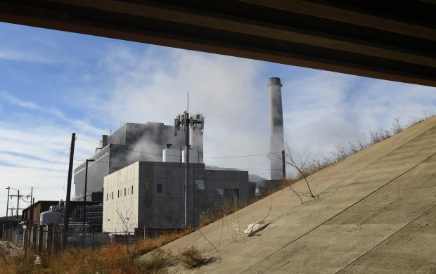 The Sierra Club is raising concerns over emissions from the coal-fired Colorado Springs Drake Power Plant, January 10, 2017. The power plant is located in the middle of the city.