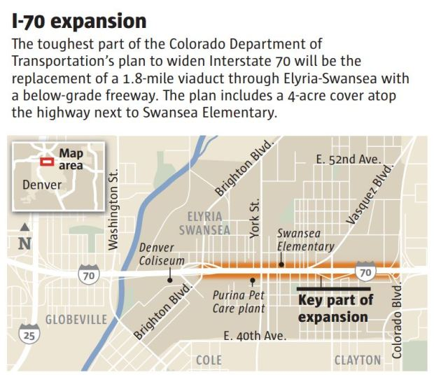 I-70 project through northeast Denver receives final ... on route 20 map, i-95 map, i-75 map, i-270 map, i-55 map, i-84 map, us interstate highway system, i-20 map, i-595 map, i-4 map, i-80 map, route 50 map, i-69 map, route 66 map, route 44 map, i-88 map, i-64 map, glenwood canyon, i-94 map, i-74 map, route 17 map, i-40 map, eisenhower tunnel, u.s. route 40,