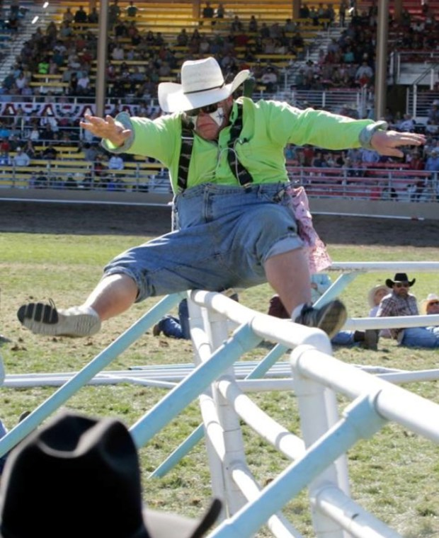 Rodeo Clown Justin Rumpshaker Rumford Returns To The