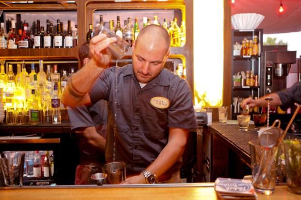 Root Down bartender Mike Henderson.