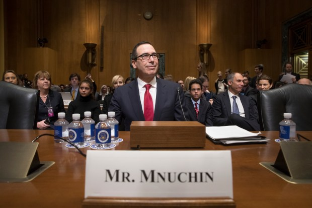 Image result for PHOTOS MNUCHIN