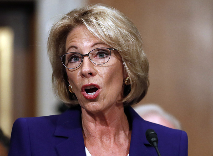 DeVos set to be confirmed by Senate around noon