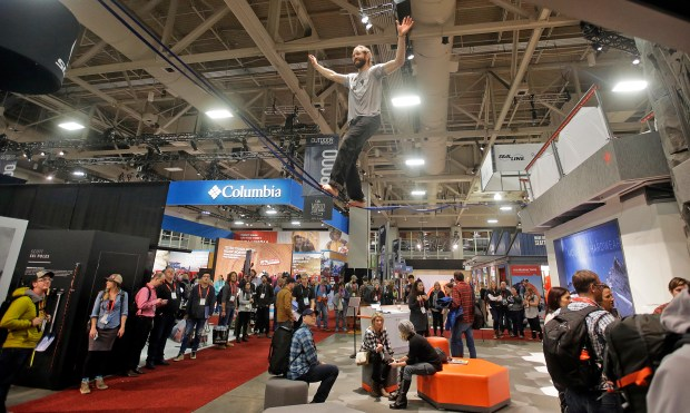 Outdoor Retailer show at the Salt Palace Convention Center