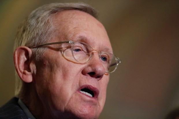 Senate Minority Leader Harry Reid speaks during a Nov. 16 news conference in Washington.