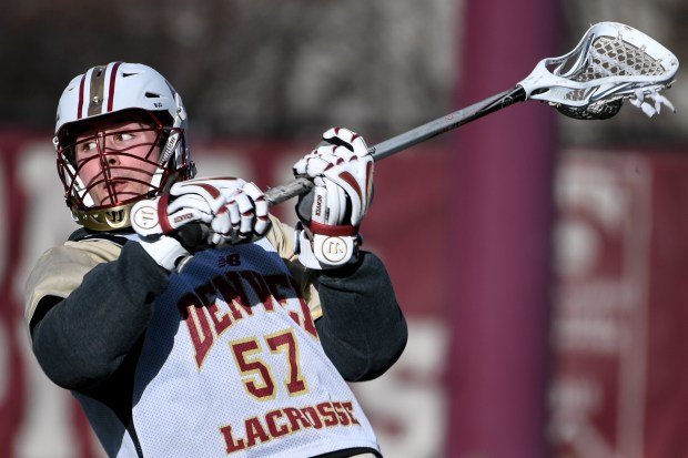 University of Denver lacrosse player Ethan Walker