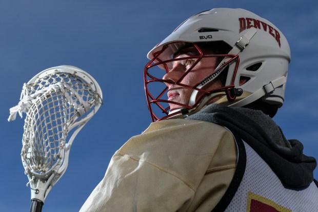 University of Denver lacrosse player Ethan Walker