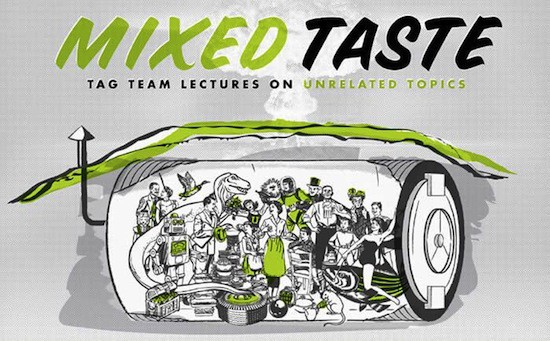 """A promotional image from a previous season of the """"Mixed Taste"""" lecture series, which will move to the Denver Center for the Performing Arts for its 14th season."""