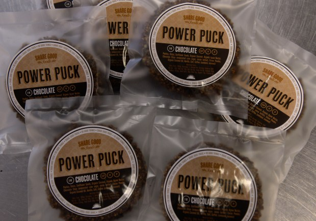 One popular product from the Share Good Foods small business in Englewood is the Power Puck. Englewood's mayor, despite some resistance from within his own City Council and city staff, has made strides in the last year to provide more support to local small business, including partnering with the Aurora Ð South Metro SBDC and the U.S. Small Business Administration.