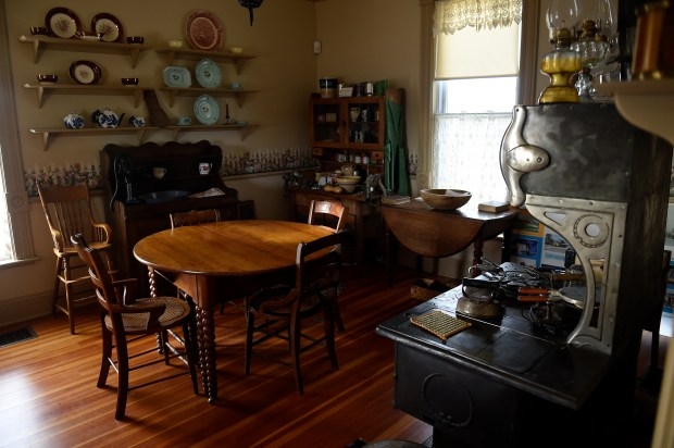 BRIGHTON, CO - JANUARY 31: The kitchen in the Henderson House at the Adams County History Museum in Brighton, Colorado on January 31, 2017. The Adams County Parks & Open Space Department and consultant team, Design Workshop, are working together to update the Adams County Regional Park and Fairgrounds Master Plan.  (Photo by Seth McConnell/The Denver Post)